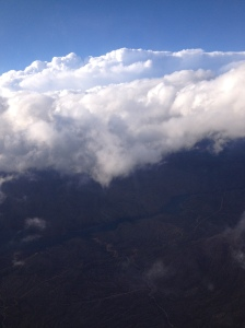 Cloud view from the plane