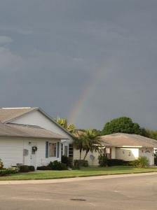 A beautiful Florida rainbow :)