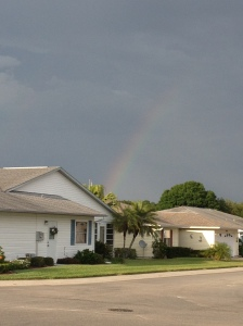 A beautiful Florida rainbow :)