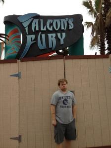 Falcon's fury not open yet=sad Bretten