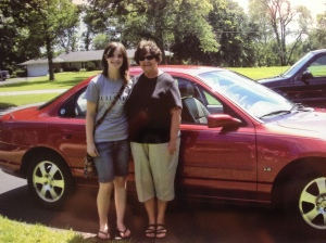16 year old me buying my first car!