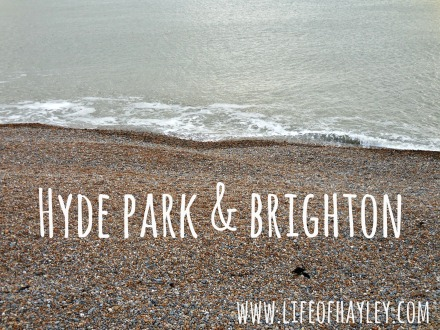Hyde Park and Brighton