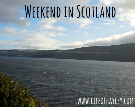 Scotland Trip // Study Abroad // www.lifeofhayley.com