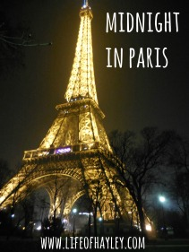 Study Abroad London // Weekend trip to Paris // www.lifeofhayley // study abroad blog