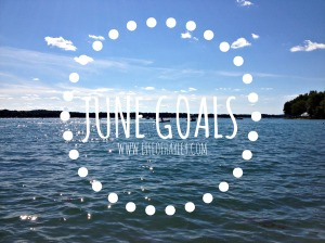 June Goals // www.lifeofhayley.com