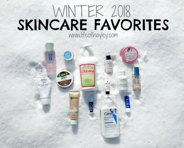 Winter 2018 Skincare Favorite for Dry and Sensitive Skin