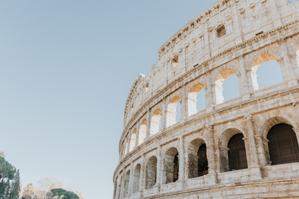 Visiting Rome, Italy
