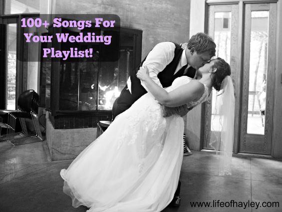 100+ Wedding Playlist Songs
