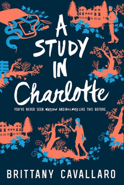 A Study in Charlotte by Brittany Cavallaro book review